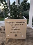 Personalised Flower / Plant Pot GRANDPARENTS gift NANNY GRANDAD OR ANY NAME - 233308653796